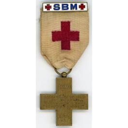 MEDAILLE DE SERVICE, AGRAPHE de la SSBM  1870 - 1871