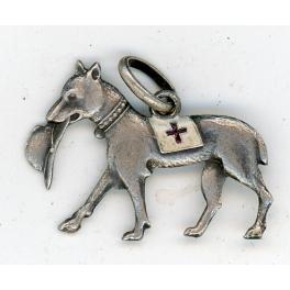 PENDENTIF PATRIOTIQUE , CROIX ROUGE 1915 - 1918