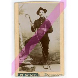 PHOTO ALPIN 159ème RIA , BRIANCON  , 1900