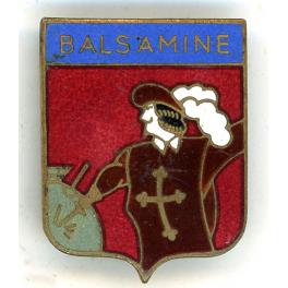 INSIGNE DRAGUEUR BALSAMINE , INDOCHINE 1948