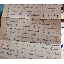 INSIGNE TISSU PARACHUTISTE 25ième DAP 1946 - 1956