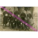 PHOTO d 'un GROUPE de ZOUAVES , MILLY 1917