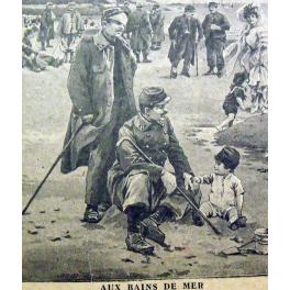 CALENDRIER , POILUS 1917