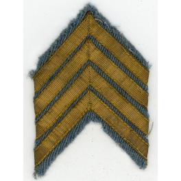 CHEVRONS de CAMPAGNE FOND BLEU HORIZON 1917 - 1918