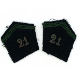 PATTES de COL 21ème GRDI 1939 - 40