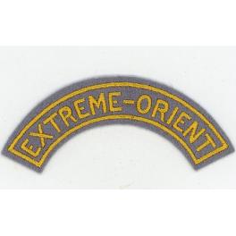 BANDE EXTREME-ORIENT , TIRAILLEURS INDOCHINE