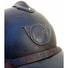 CASQUE ADRIAN , CHASSEURS Mle 1915