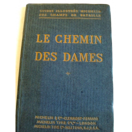 GUIDE MICHELIN , VERDUN  ARGONNE 1914 - 1918