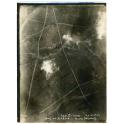 PHOTO AERIENNE , TRANCHEE des GERMAINS , 1916