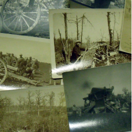 LOT de PHOTOS , 50ème RAC , 1915 - 16