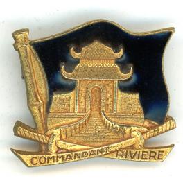 INSIGNE AVISO COMMANDANT RIVIERE