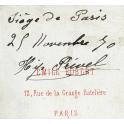 PHOTO SOLDAT , PARIS 1870