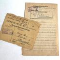 COURRIER PRISONNIER 1917
