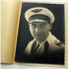 PORTRAIT  MECANICIEN AVIATION , TONKIN , 1931
