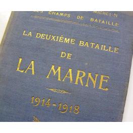 GUIDE MICHELIN , LA MARNE  1914 - 1918
