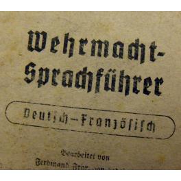 DICTIONNAIRE WEHRMACHT , PRISONNIER 39 - 45