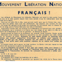 TRACT RESISTANCE ZONE SUD , AOUT 1944